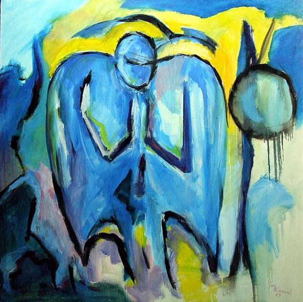 kunstshop des expressionistischen malers karl kaul blauer engel. Black Bedroom Furniture Sets. Home Design Ideas